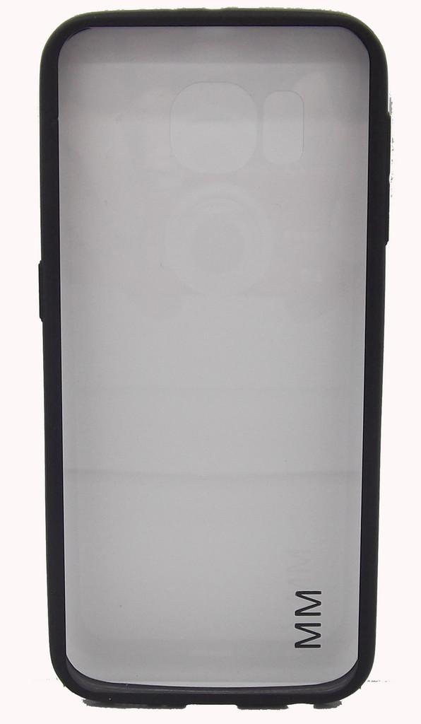 Samsung Galaxy S6 Clear Bumper Black