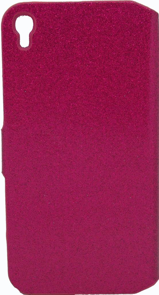 Alcatel Idol 3 5.5 Glitter Bling Wallet Pink