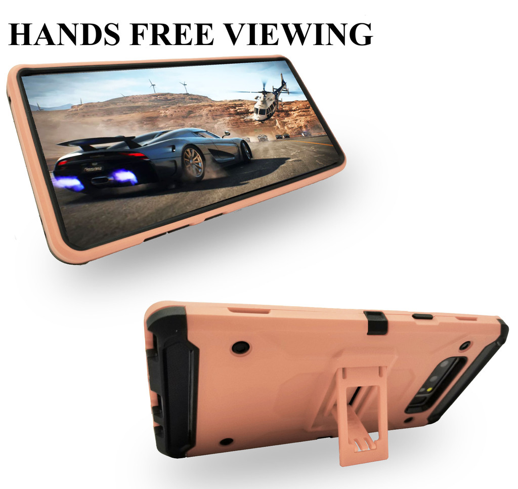 Samsung Galaxy Note 8 MM Silo Rugged Case Rose Gold(Curved Tempered Glass Included)