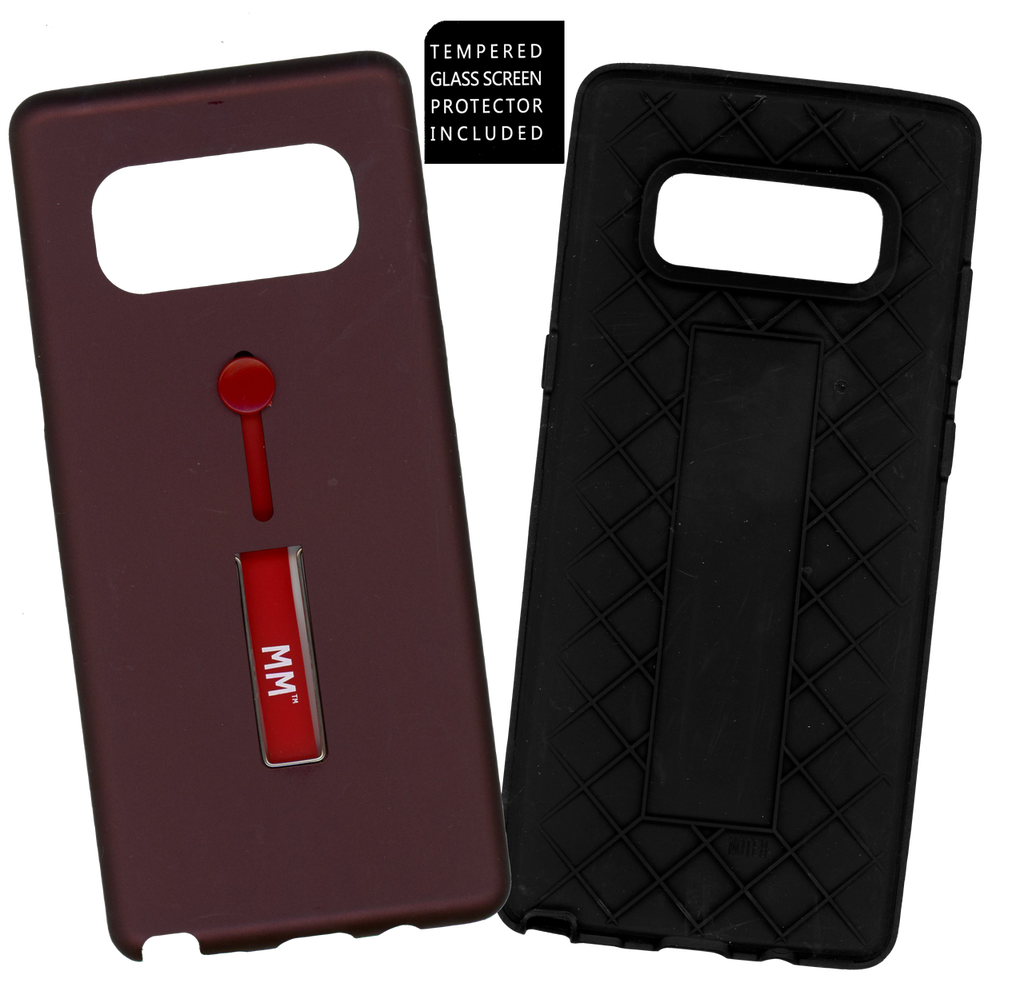 Samsung Galaxy Note 8 MM Opal Slim Kickstand Wine