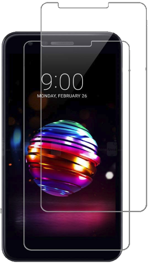 LG K10(2018)/K30 MM Tempered Glass