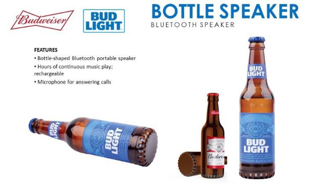 Budweiser Bottle Speaker