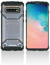 Samsung Galaxy S10 MM Magnetic Rugged Case Silver
