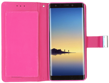 Samsung Galaxy Note 8 MM Premium Folio Wallet Hot PInk