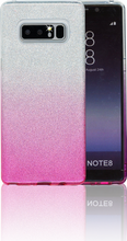 Samsung Galaxy Note 8 MM Glitter Hybrid (Two Tone) Pink