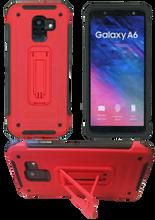 Samsung Galaxy A6 MM Opal Kickstand Red