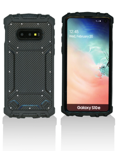 Samsung Galaxy S10 Lite MM Magnetic Rugged Case Carbon Fiber
