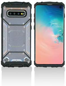 Samsung Galaxy S10 PLUS MM Magnetic Rugged Case Silver