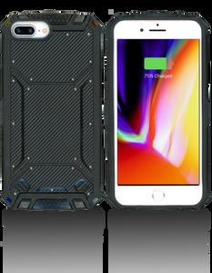 Iphone 8+/7+/6+ MM Magnetic Rugged Case Carbon Fiber