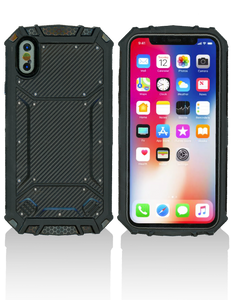 Iphone XS MM Magnetic Rugged Case Carbon Fiber