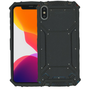 Iphone XS Max MM Magnetic Rugged Case Carbon Fiber