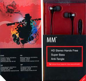 MM Dynamic HD Handsfree Black