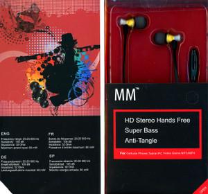 MM Dynamic HD Handsfree Gold