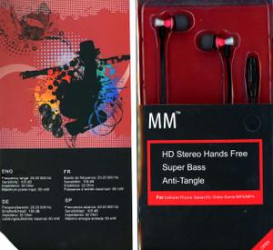 MM Dynamic HD Handsfree Red