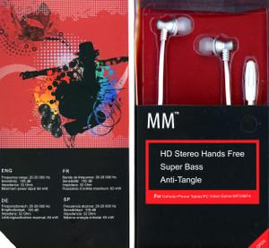 MM Dynamic HD Handsfree White