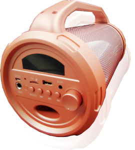 Max Power MPD 4LT Speaker Rose Gold