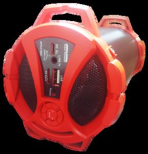 Max Power MPD 276 BZ  Speaker Red
