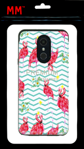 LG Stylo 5 MM Pop Kick Case Peacock Chevron