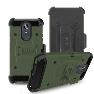 LG Stylo 5  MM Silo Rugged Case Army Green