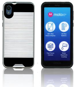 Motorola E6  MM Slim Dura Metal Silver