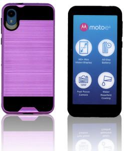 Motorola E6  MM Slim Dura Metal Purple