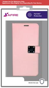 Samsung A20/A50 Premium Folio Wallet Rose Gold