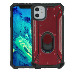 iPhone 11  MM Magnetic Rugged Case W/Kickstand Red