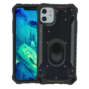 iPhone 11  MM Magnetic Rugged Case W/Kickstand Black