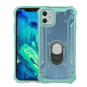 iPhone 11 MM Magnetic Rugged Bling W KS Teal