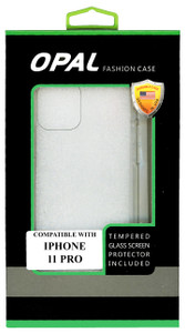 iPhone 11 Pro MM Opal Crystal Armor Clear(Tempered Glass Included)