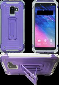 Motorola G7 Play MM Kickstand Purple