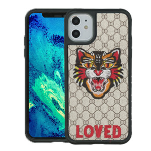 iPhone 11 MM Pattern Tiger Case