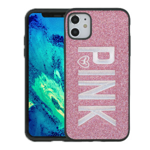 iPhone 11 MM Pattern Pink W Pink Case