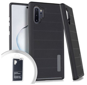 Samsung Galaxy Note 10 Plus MM Deluxe Brushed case Black