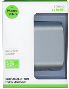Belkin Universal 2- Port Home Charger 4.8 AMP