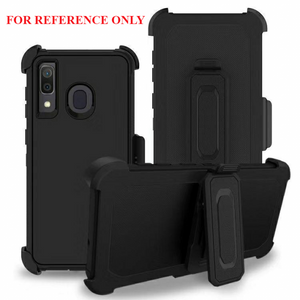 iPhone 11  MM Rugged Case W Holster Black