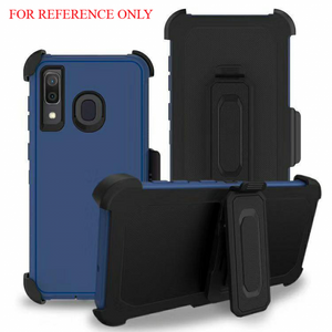 iPhone 11  MM Rugged Case W Holster Navy