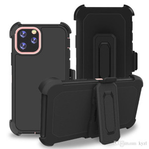 iPhone 11 Pro Max  MM Rugged Case W Holster Black
