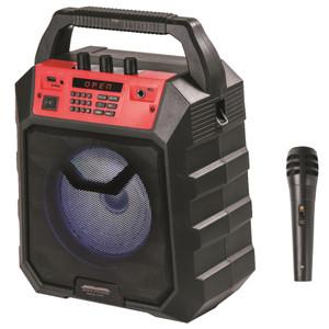 Max Power H-603 Speaker Red