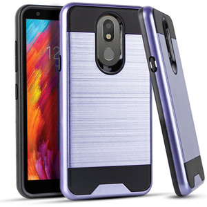 LG Aristo 4+/ Escape+ MM Slim Dura Metal Finish Purple