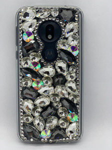 Motorola G7 Play 3D Bling Silver