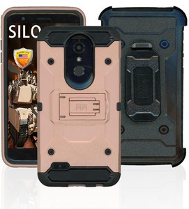 Lg Aristo 4+/Escape+ Silo Rugged Case Rose Gold