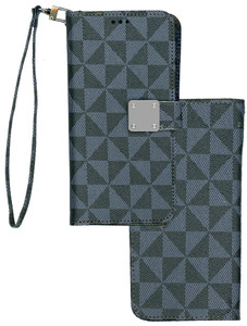 Iphone 11 Pro Max MM Portfolio Wallet Grey Pattern