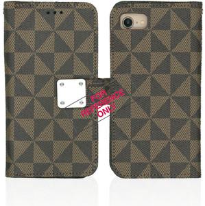 Iphone 11 Pro Max MM Portfolio Wallet Brown Pattern