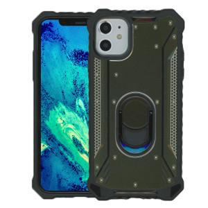 iPhone 11 MM Magnetic Rugged Case W/Kickstand Dark Green