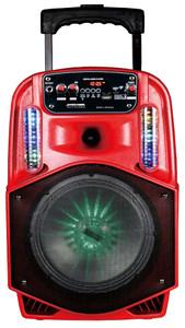 Max Power MPD 899L Speaker Red
