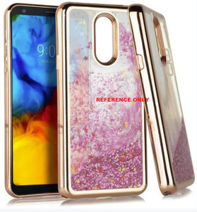 Alcatel 3V Electroplated Water Glitter Rose Gold