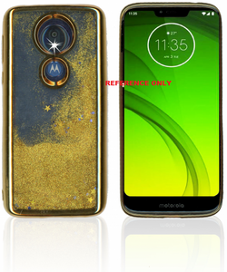 Alcatel 3V Electroplated Water Glitter Gold