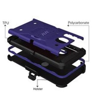 Alcatel 3V MM Silo Rugged Case Navy