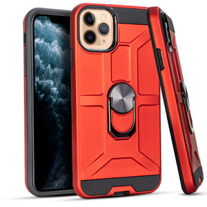 Iphone 11PRO MAX  MM Ringstand Red